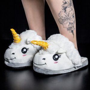 chausson pantoufle licorne