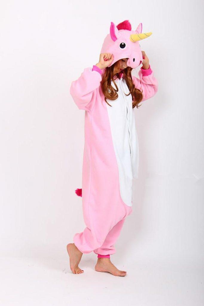 pyjama kigurumi licorne